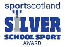 Sport Scotland Silver Award Icon